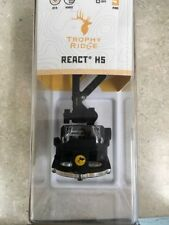 NEW 2017 TROPHY RIDGE BEAR REACT H5 .019 BOW SIGHT RIGHT HAND BLACK # AS855