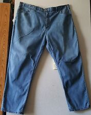 MENS HARBOR BAY BLUE JEANS DENIM PANTS SIZE 50 X 32