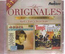 CD - Los Originales Peerless 2 En 1 Abril Y Tony's Twist Team - BRAND NEW !