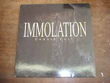 IMMOLATION Unholy cult- PICTURE-DISC edition LP