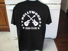 Hollywood Gun Club band t shirt men's large 1980s hard rock cover band