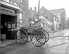 Photograph of the  George Washington Fire Engine in Virginia Year 1915  8x10