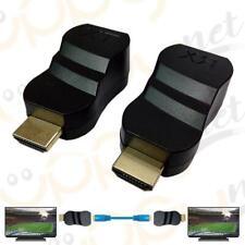 HDMI Extender CAT 6/6E Rete Ethernet Cavo Lan Adattatore 1080p 2K 4K UHD
