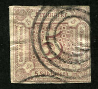 THURN AND TAXIS #13 German States Stamps Postage USED