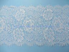 3 meters lace trim eyelash fabric vintage venise French Chantilly style pure