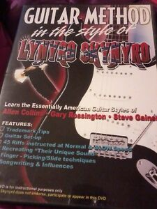 GUITAR METHOD In the style of Lynyrd Skynyrd DVD 2003 Tuition POST FREE