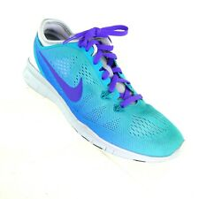 New listing Nike Women's Sneakers US 6.5 Free 5.0 Hike TR Fit 5 Blue Mesh Trainer