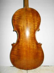 """Old Antique Vintage 1914 """"James A. Davis Detroit"""" Full Size Violin - No Reserve"""