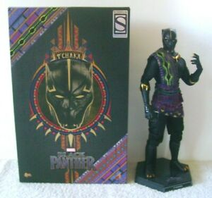 Hot Toys T'Chaka Black Panther 2018 Marvel 1/6 Figure Used Sideshow Exclusive