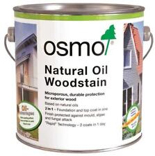 Osmo Natural Oil Woodstain 900 White 0.75L Exterior Wood Protection