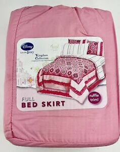 Pink Disney Bed Skirt Size Twin or Full New