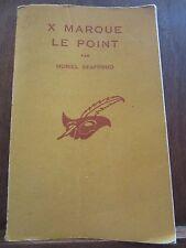 Muriel Stafford: X marque le point/ Le Masque N°415, Libr. des Champs-Elysées