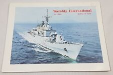 Warship International No. 3 1993 Various Ships & Information Details