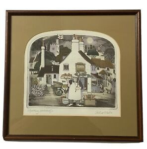 """Graham Clarke - signed limited edition print """"Alfred King"""""""