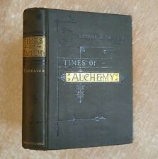 Times of Alchemy Topelius Antique 1884 Victorian Gothic Halloween Decor