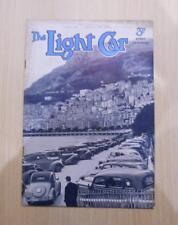 THE LIGHT CAR MAGAZINE 20 JAN 1940 - 12H.P. TRIUMPH, WHAT ABOUT STEAM?