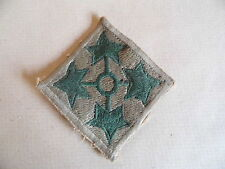 US 4TH INFANTRY DIVISION INSIGNIA/PATCH