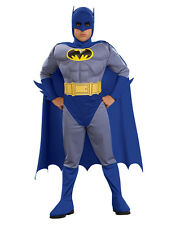 "Batman Kids Brave Bold Muscle Costume,Medium, Age 5 - 7, HEIGHT 4' 2"" - 4' 6"""
