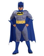 """Disfraz De Batman Niños Valiente audaz muscular, medio, la edad de 5 - 7, altura 4' 2"""" - 4' 6"""""""