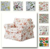 Custom Made Cover Fits IKEA Ektorp Chair, Ektorp Armchair, Patterned Fabric