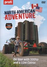 Big Tractor DVD: NORTH AMERICAN ADVENTURE on Tour with 500hp Amazone Catros