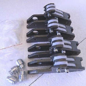 Coats Gripmax® Clamps w/ Nylon inserts for all X-series tire changers