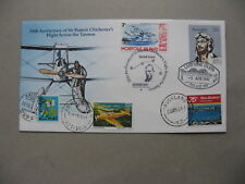AUSTRALIA,  spec. cover 1981, 50th ann Tasman flight F. Chichester Japanese canc