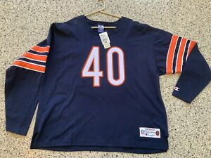 Vintage Chicago Bears Jersey Gale Sayers Champion Throwback Collection NWT NEW