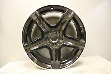 "GENUINE ORIGINAL MERCEDES GLA AMG 19"" ALLOY WHEEL BLACK POLISHED A1564010600"