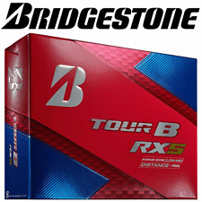 BRIDGESTONE 2018 TOUR B RXS WHITE GOLF BALLS / 3 BALL PACK