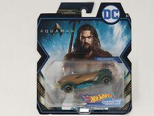 2018 Hot Wheels Dc Character Cars Aquaman