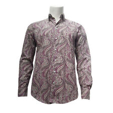 Paisley Regular Size 100% Cotton Casual Shirts for Men