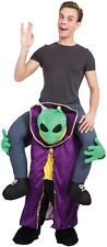 Adult Piggyback Step In Alien Halloween Fun Stag Do Fancy Dress Costume Outfit
