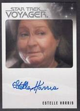 STAR TREK VOYAGER QUOTABLE  AUTOGRAPH ESTELLE HARRIS AS OLD WOMAN