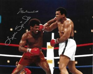 Muhammad Ali / Leon Spinks Autographed Signed 8x10 Photo REPRINT
