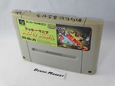 MICKEY MANIA THE TIMELESS ADVENTURES OF MOUSE TOPOLINO SUPER FAMICOM SNES JP JAP
