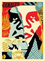 Shepard Fairey Obey Giant ANDRE Signed Numbered Screen Print RARE kaws