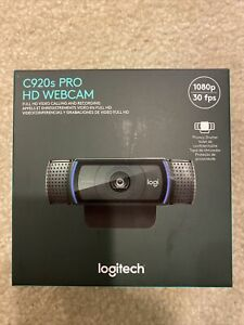*SHIPS FREE TODAY!* Logitech C920s Pro HD 1080p Webcam with Privacy Shutter