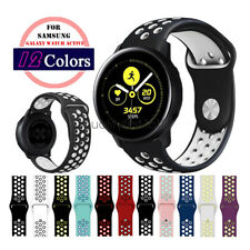 B# Silicone Sport Watch Band Strap For Samsung Galaxy Watch Active2 44mm 40mm