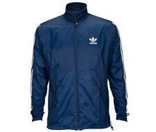 Hombre Adidas Originals Teorado Chaqueta de Chándal AZ7085 Navy/Blanco Tallas:
