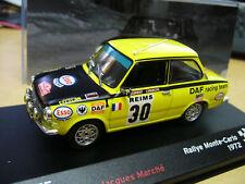 DAF 55 Rallye Monte Carlo 1972 #20 Laurent Esso IXO Altaya 1:43