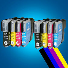 8 LC980 LC1100 ink Cartridge for Brother MFC 5890CN 6890CDW 6490CW DCP 197C 2