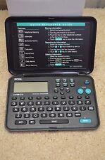 Royal Dm75 Plus Electronic Handheld Personal Organizer Bin 8