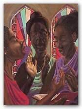 AFRICAN AMERICAN ART PRINT Sweet Gospel Trio John Holyfield