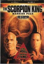 The Scorpion King Warrior Pack (DVD 2-Disc Set) Scoripon King 1 & 2  NEW sealed