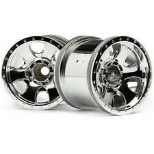 HPI Warlock Wheels 2.2in 2pcs Chrome 106722
