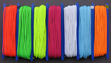SCHWARZLICHT UV STRICK KORDEL-LEUCHTSCHNUR  7 x 20 METER   6 MM - BLACKLIGHT