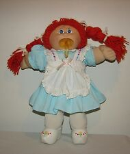 Vintage Red Hair Cabbage Patch Kid Doll Pacifier Face Dressed in Travel Holland