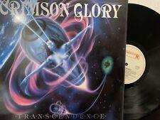 Crimson Glory – Transcendence LP 1988 Orig Roadracer Records – RR 9508 NM/NM