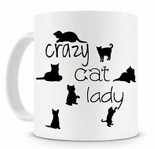 Crazy Cat Lady Novelty Mug Cat Lovers Funny Gift Ideas Our Cat Mugs Are Back!